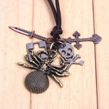 JS Spider Necklace