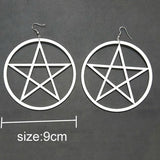Big Pentagram Earrings