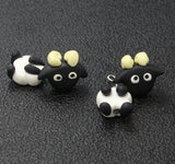 3D Lovely Sheep Stud Earrings