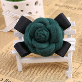 Flower Bowknot Brooch