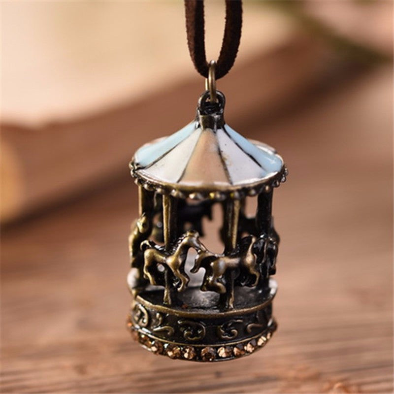 Carousel Pendant Necklace