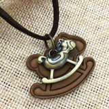 Rockinghorse Pendant Necklace