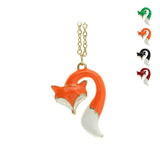 Fox Pendant Necklace