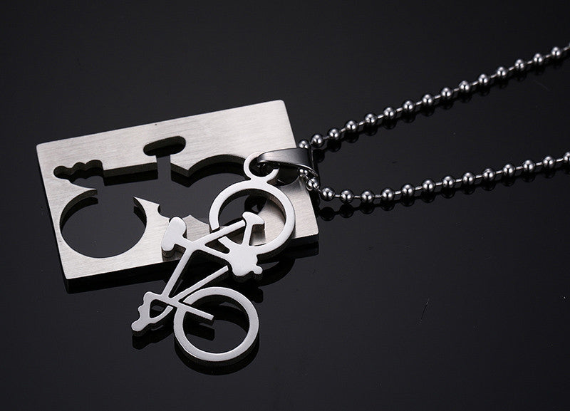 Bike Bicycle Necklace