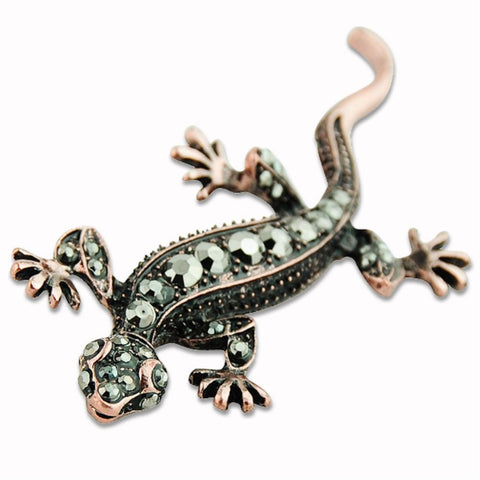 Lizard Gecko Brooch Pin