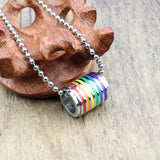 Rainbow Loop Necklace (Gay Pride)