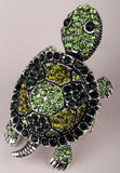 Turtle Tortoise Ring (Gold and Silver plated Stretch Ring)