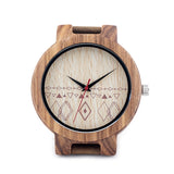 Analog Wood Bamboo Watch