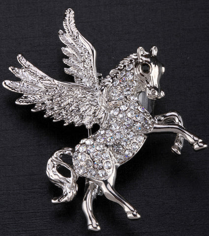 Pegasus Brooch Pin