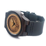 Deer Head Quartz Wooden Watch
