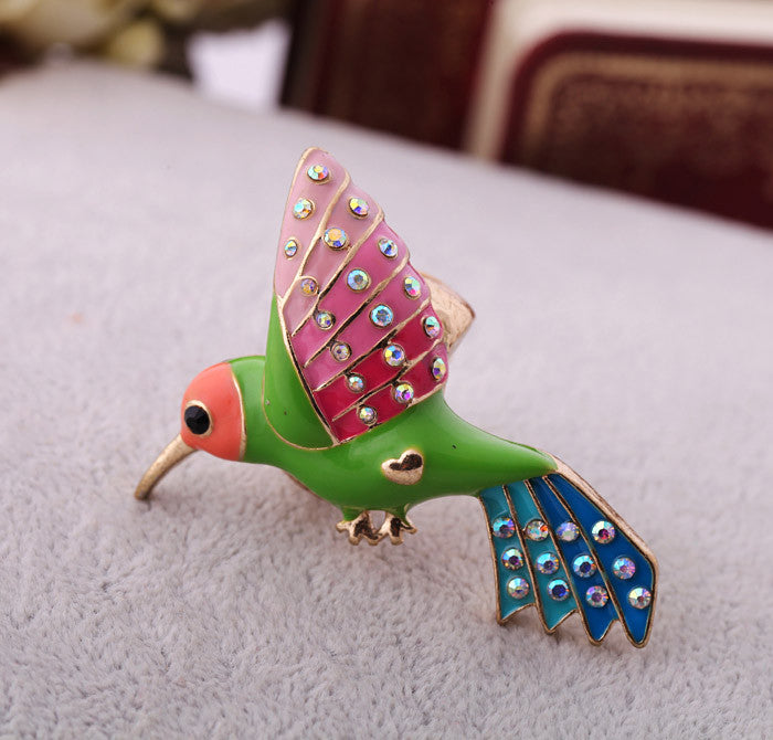 Cute Hummingbird Ring