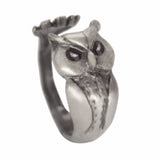 Retro Owl Ring