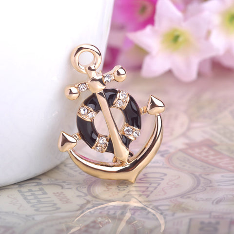 Anchor Brooch Pin