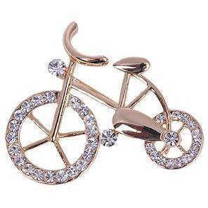 Bicycle Brooch (Cyclist Brooch) Pin