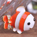 Clownfish Brooch Pin