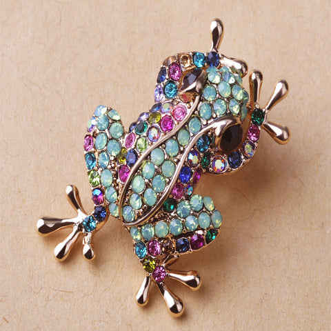 Frog Brooch Pin