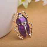 Beetle Insects Brooch