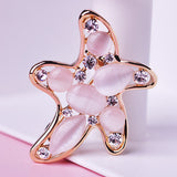 Starfish Brooch Pin