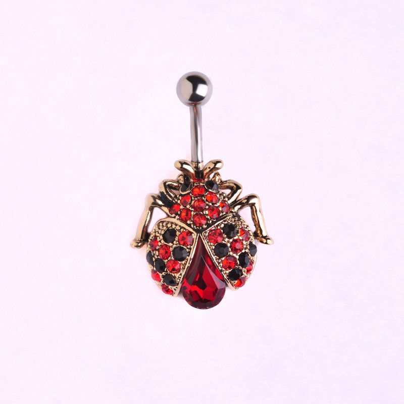 insects beetle belly button rings piercing bold and honest