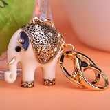 Elephants Animal Key chains Key Ring
