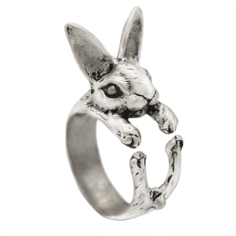Rabbit Bunny Knuckle Ring