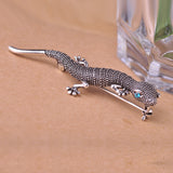 Gecko Brooch Pin