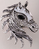 Crystal Horse Stretch Ring