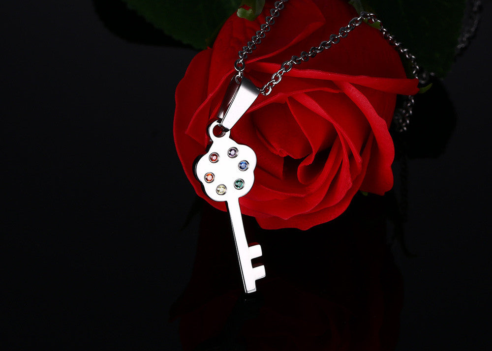 e2a07a8cf3c Lock and Key Couple Necklace – Bold and Honest