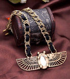 Egyptian Wing Animal Necklace