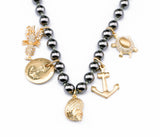 Ocean Animal Pearl Necklace