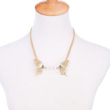 Elegant Gold Butterfly Necklace