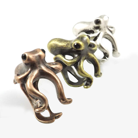 Sea Monster Squid Ring