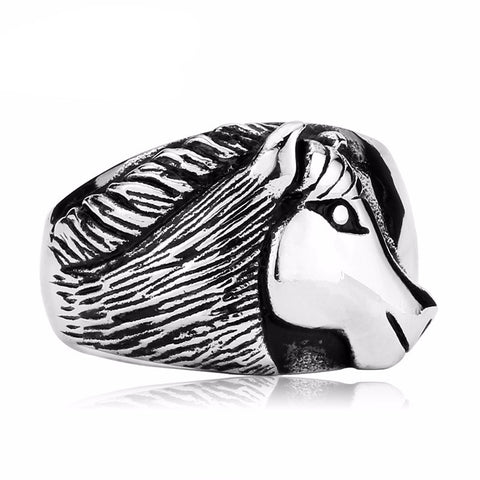 Horse Ring (Stainless Steel)