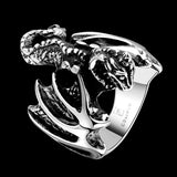 Flying Bat Ring (316L Stainless Steel)