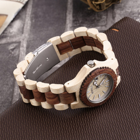Maple Wood Red Women's Wooden Watch