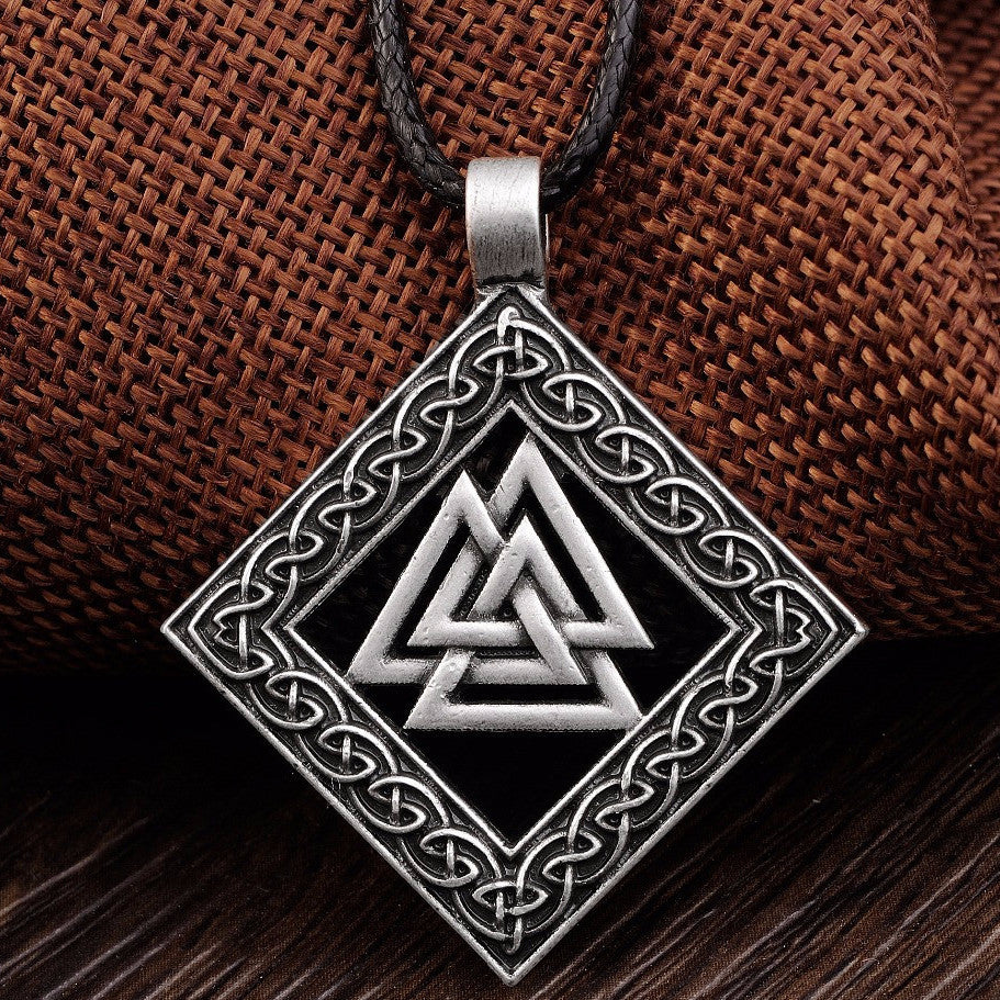 Nordic Rune Yggdrasil Viking Amulet Necklace