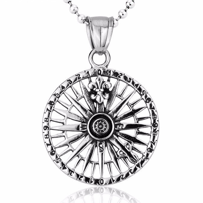 Beier Pendant Compass Necklace