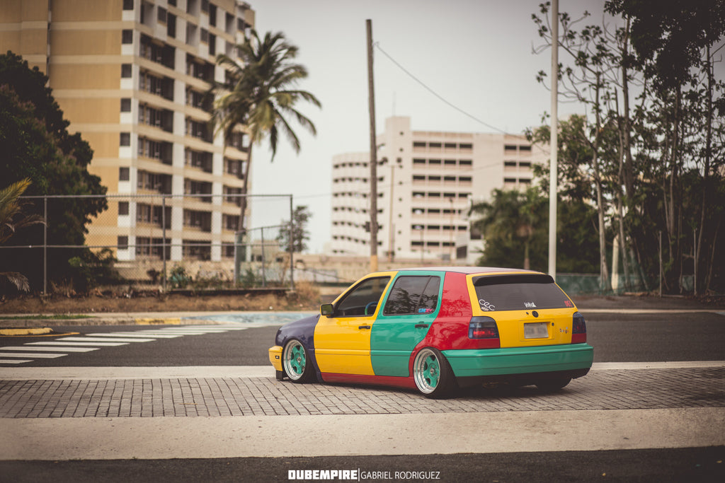 From the Island to the Mainland - Rafael's MK3 Golf Harlequin