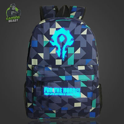 Limited Edition World of Warcraft Cool Luminous Backpack
