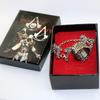 Assassin Creed Origin Eden Apple Fragment Ring Connor Pendant Necklace  Set