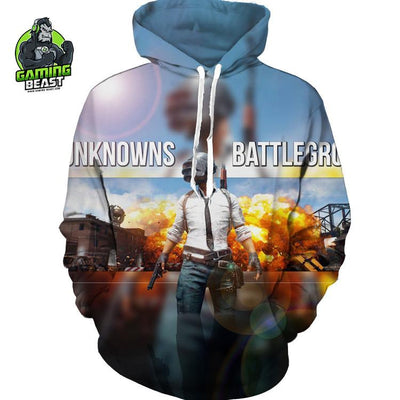 PLAYERUNKNOWN'S BATTLEGROUNDS 3D Printed Hoodie