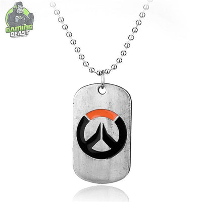 Overwatch Sign Zinc Alloy Necklace