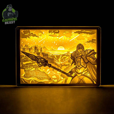 World of Warcraft Angela Stereoscopic Night Light
