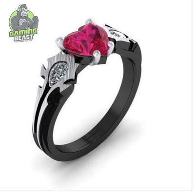 Limited Edition World of Warcraft Tribe Sign Crystal Ring