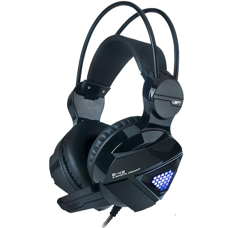 Computer Stereo Gaming Headphones Best Casque Deep Bass With Mic