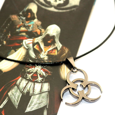Assassin's Creed Limited Edition Assassin Biochemical Necklace 8 Sign Pendant Necklace