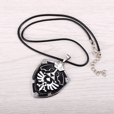 The Legend of Zelda Shield Pendant Alloy Necklace