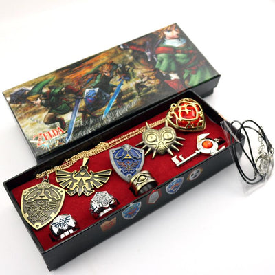 The Legend of Zelda Necklace Jewelry Sets