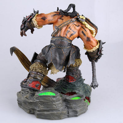 LIMITED EDITION - WORLD OF WARCRAFT HELLSCREAM STATUE | 24CM HEIGHT