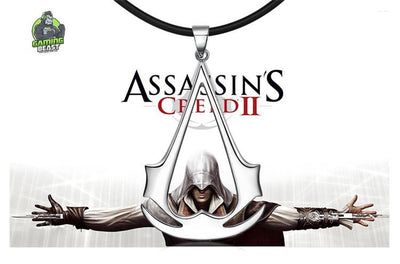 Limited Edition Assassin's Creed S925 Sterling Silver Necklace